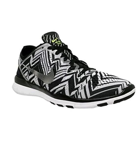 Nike Free 5.0 Tr Adapter 5 Imprimer Des Photos En Noir Et Blanc